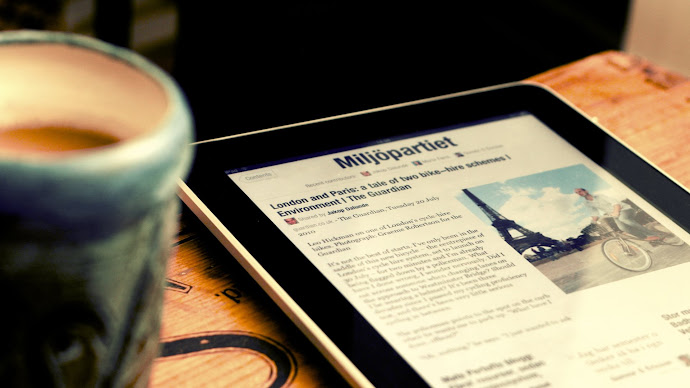 Wallpaper: Flipboard app on iPad