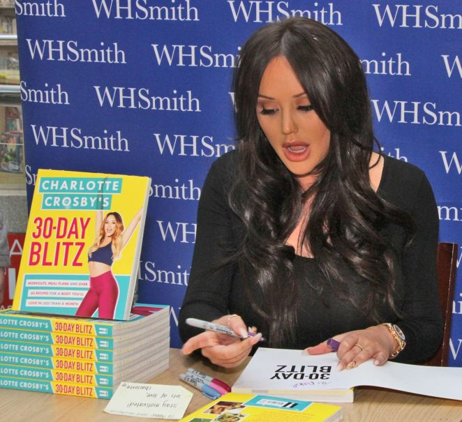 Charlotte Crosby - Book Signing in Chester