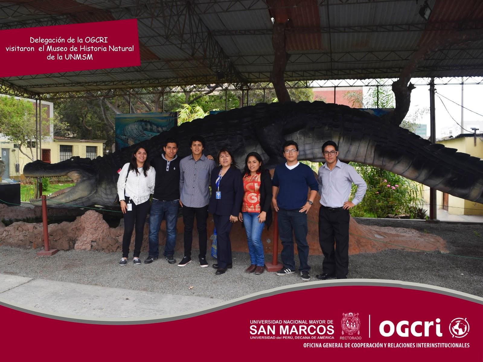 OGCRI - UNMSM: Visita al Museo de Historia Natural y a la Fundación ...