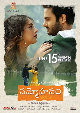 Poster Of Sammohanam In Dual Audio Hindi Telugu 300MB Compressed Small Size Pc Movie Free Download Only At worldfree4u.com