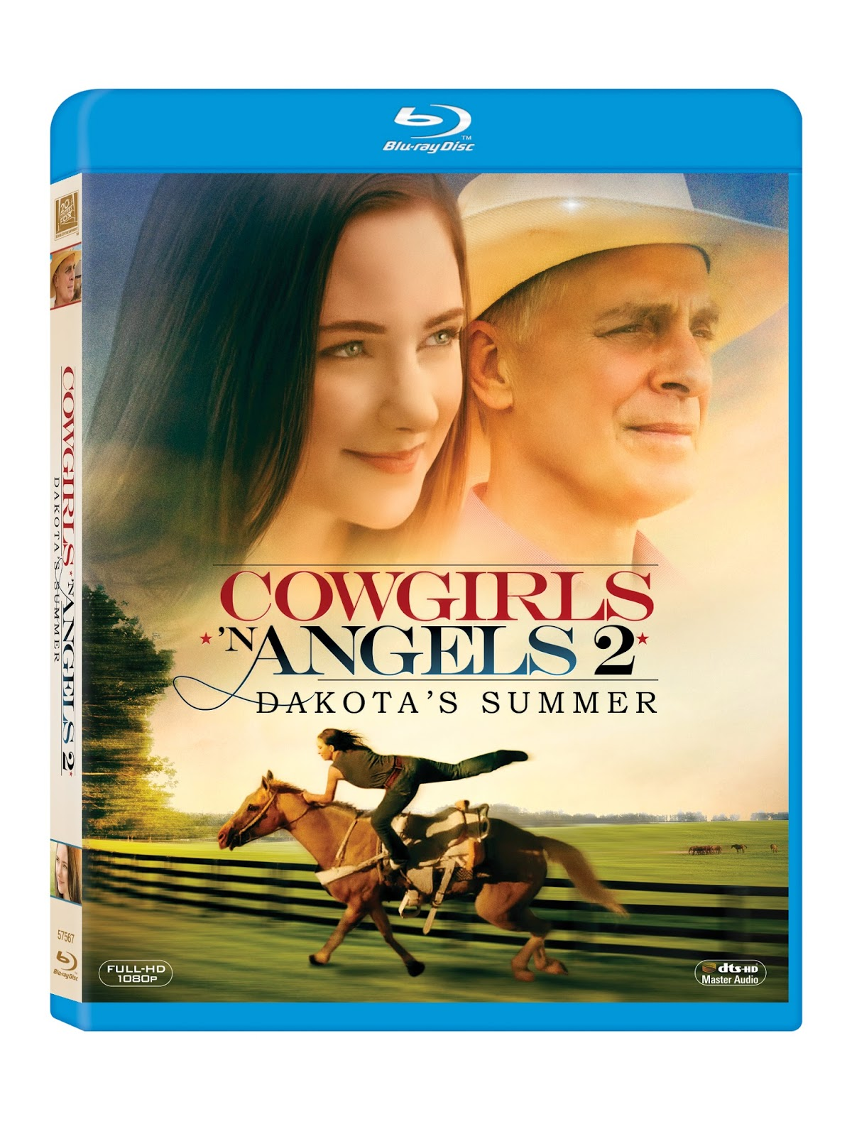 Blu-ray Review - Cowgirls 'N Angels 2: Dakota's Summer