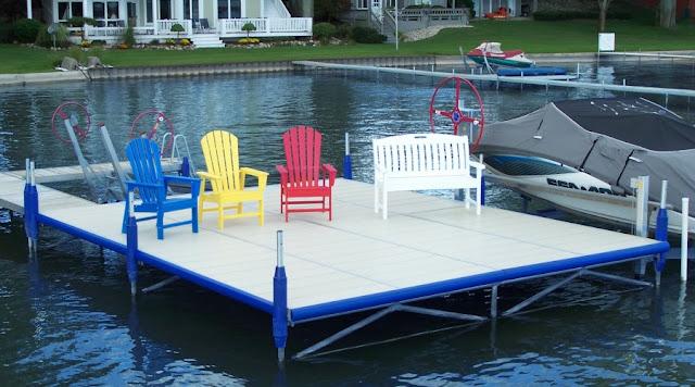 boat dock bumpers, boat dock accessories, boat dock parts, dock accessories, aluminum boat docks, dock sections, aluminum dock sections