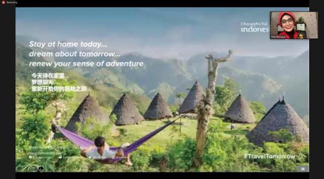 Nia Niscaya Ungkap Kemenparekraf Lakukan Product Update Pariwisata ke Pasar Great China