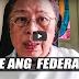 Madre Nanawagang Labanan Ang Federalism Ni President Duterte