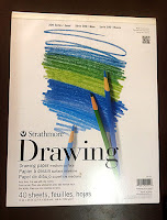 Strathmore 200 series drawing paper.