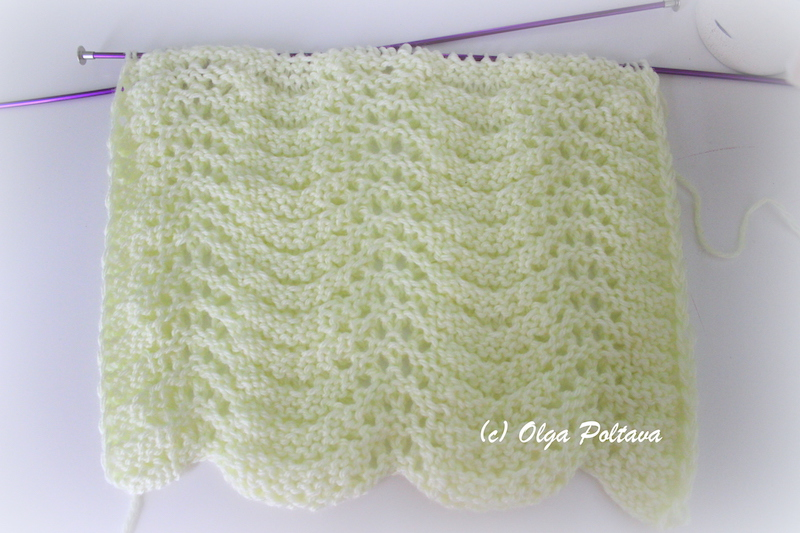 Knitting Pattern Abbreviations Us : Bluebell Crafts: Another Knitting Stitch, Simple Pattern