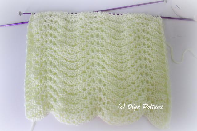 Knitting Pattern Abbreviations Yo : Bluebell Crafts: Another Knitting Stitch, Simple Pattern