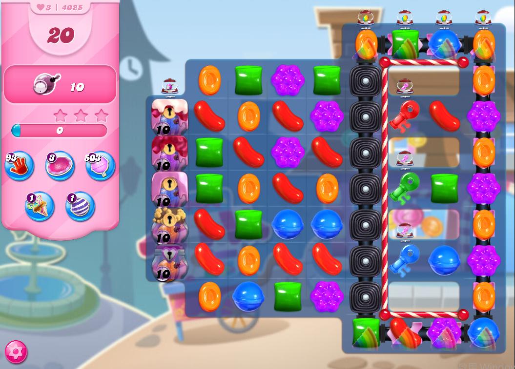 Candy Crush Saga level 4025