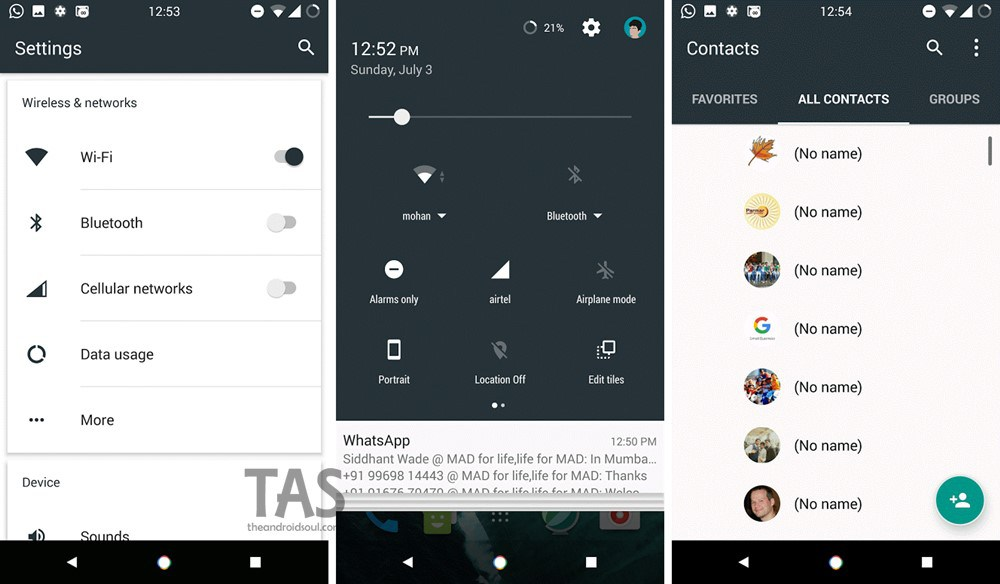 Android 7 0 Nougat Theme For Marshmallow 6 0 Devices How