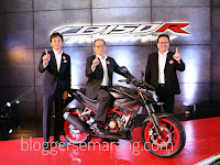 New Honda CB150R StreetFire Makin Gagah Dan Agresif