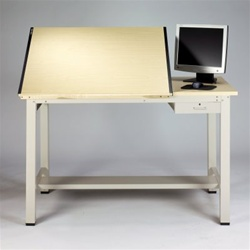 Mayline Ranger Split Top Table