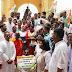 राजीव गांधी की प्रतिमा को क्षतिग्रस्त करने के विरोध में कांग्रेस का राज्यव्यापी प्रदर्शन
