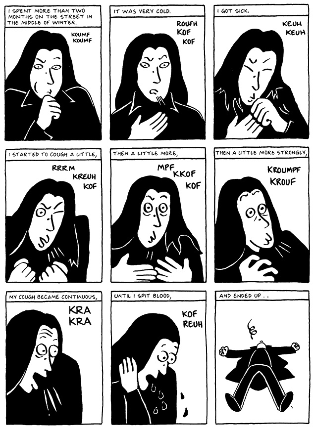 Read Chapter 9 - The Veil, page 86, from Marjane Satrapi's Persepolis 2 - The Story of a Return