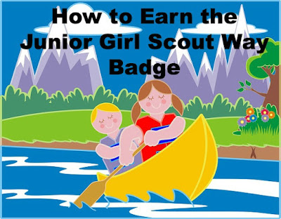 Here is how your troop can earn the Junior Girl Scout Way badge.