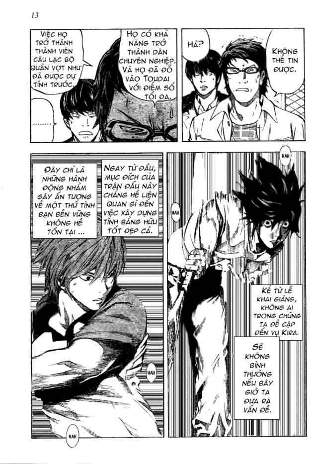Death Note chapter 020 trang 14