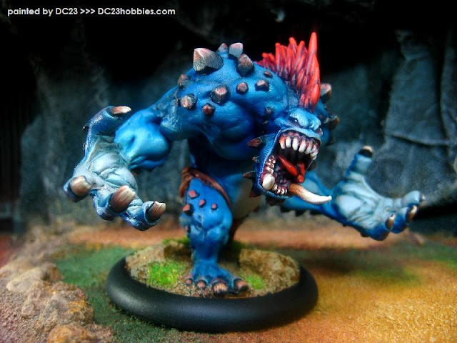 Hordes Trollbloods Dire Troll Mauler by DC23 photo