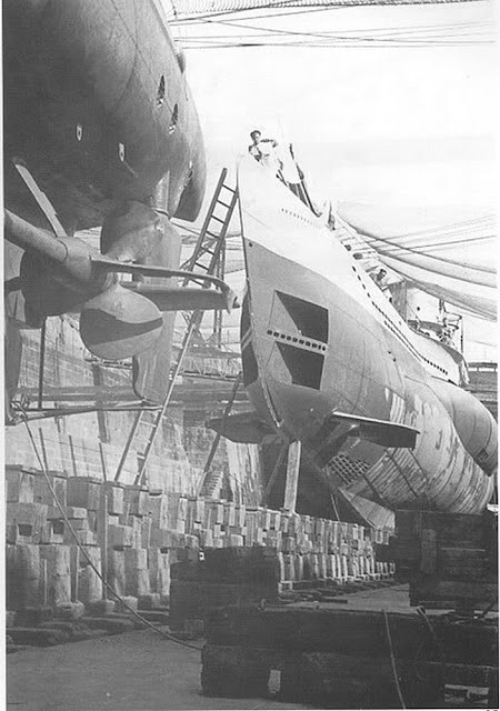 2 December 1940 worldwartwo.filminspector.com U-99 drydock