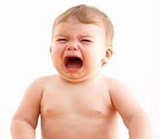 kenapa anak sering menangis rewel