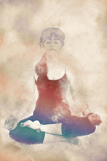 pensée positive yoga méditation