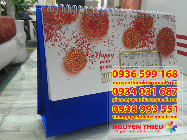 Công ty Thiết kế in lich tết, in lịch tết 1 tờ, lịch tết 5 tờ, lịch tết 13 tờ, sản xuất bộ lịch tết