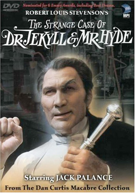 Poster for the TV movie, The Strange Case of Dr. Jekyll and Mr. Hyde (1968)