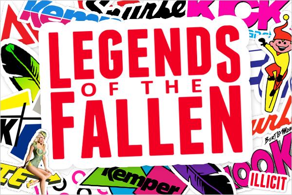 3e7143d303a5 Legends of the Fallen – Vintage Snowboard Stickers Celebrating Lost  Snowboard Brands