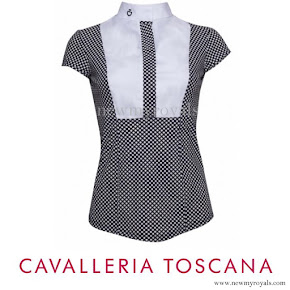 Crown Princess Mary wore Cavalleria Toscana short sleeve cottage shirt