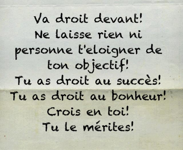 Citations Option Bonheur