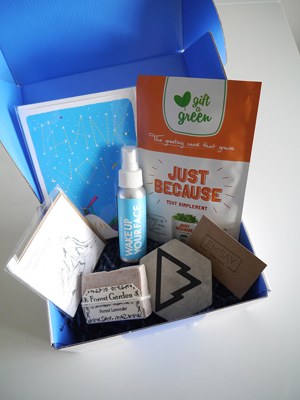 Vancity Subscription Box contents