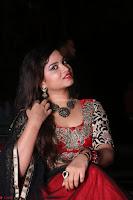 Sirisha Dasari in Red Ghagra Backless Choli ~  052.JPG