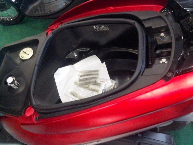 багажник под сиденьям
