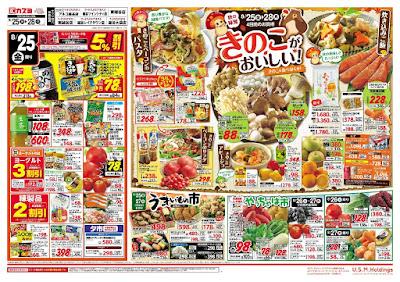 【PR】フードスクエア/越谷ツインシティ店のチラシ8月25日号