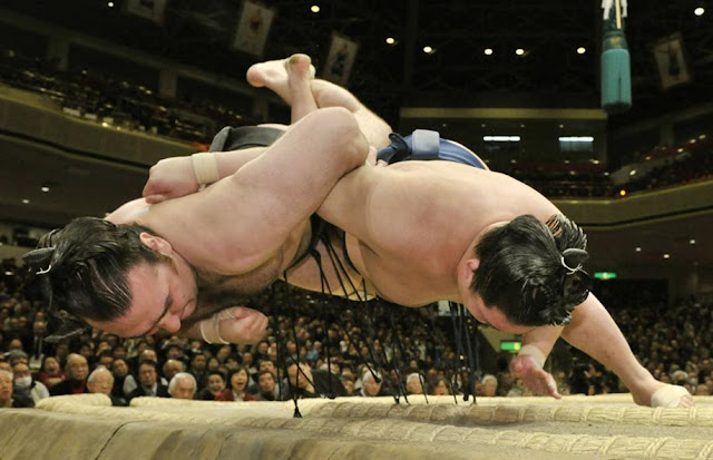2017 January Grand Sumo Tournament, at Kokugikan, Tokyo