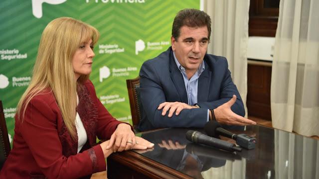 Ritondo recibió a Magario en La Plata