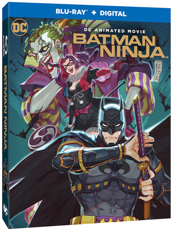 batman ninja blu-ray