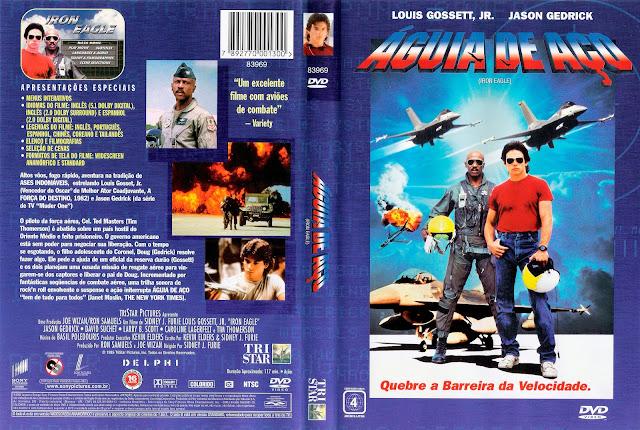 Capa DVD Águia de Aço