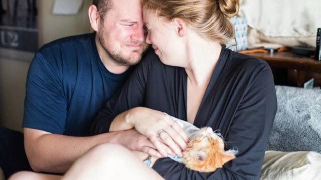 Dikira Melahirkan Bayi, Pasangan Ini Malah Lahirkan Kucing