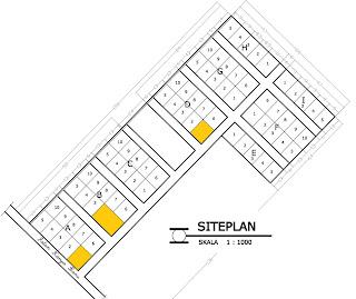Siteplan Rumah Minimalis Type 36 di kota Pekanbaru