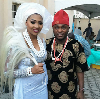 Lilian esoro wedding day with ubi franklin