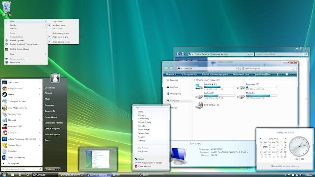 Windows Vista Ultimate ISO 32 bit and 64 bit Free Download