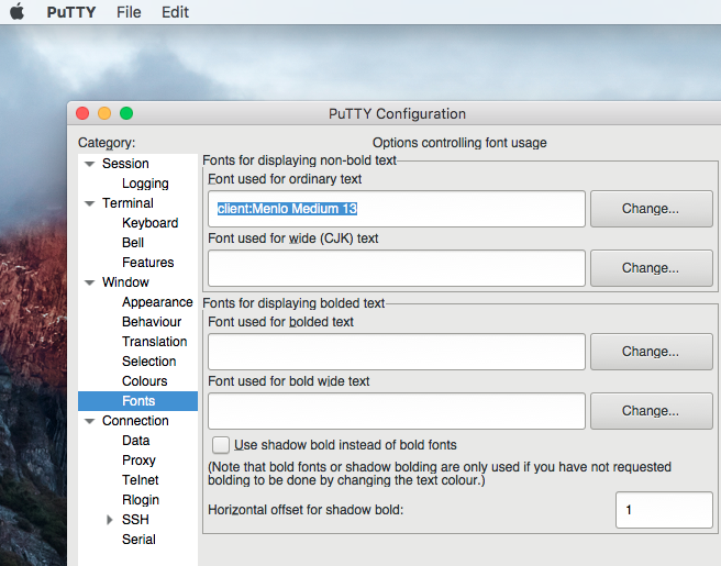 June 2017 Putty For Mac