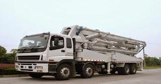 rental pompa beton loong boom murah