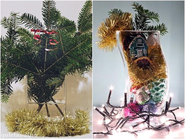 Proste dekoracje świąteczne na ostatnią chwilę, mój list do Świętego Mikołaja oraz najlepszy prezent jaki można komuś dać