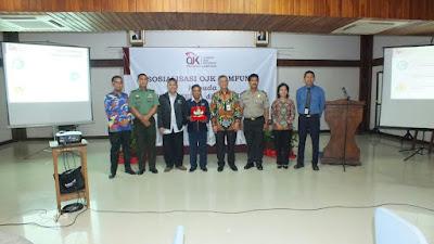 Sosialisasi OJK Lampung Kepada Insan Media di Lampung