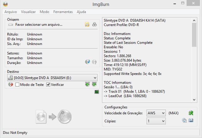 imgburn completo em portugues