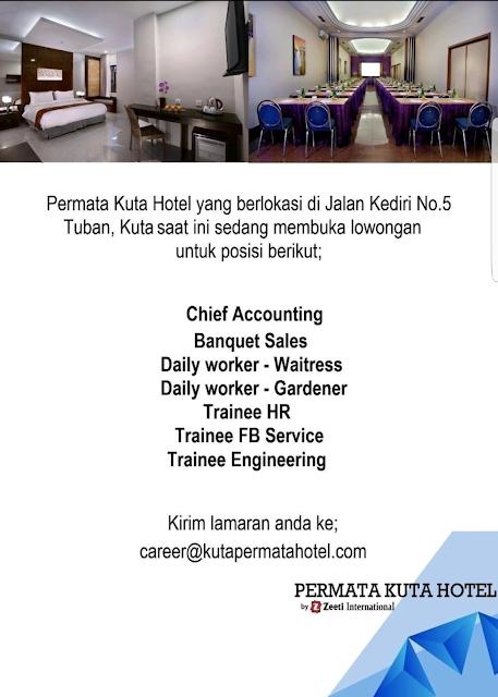 Lowongan Kerja Hotel Bali