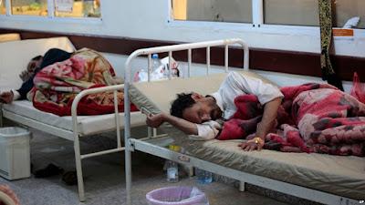 Yemen ၀မ္းေရာဂါ လူ ႏွစ္သိန္း ကူးစက္