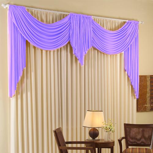 Living room purple curtains- modern curtain designs, patterns
