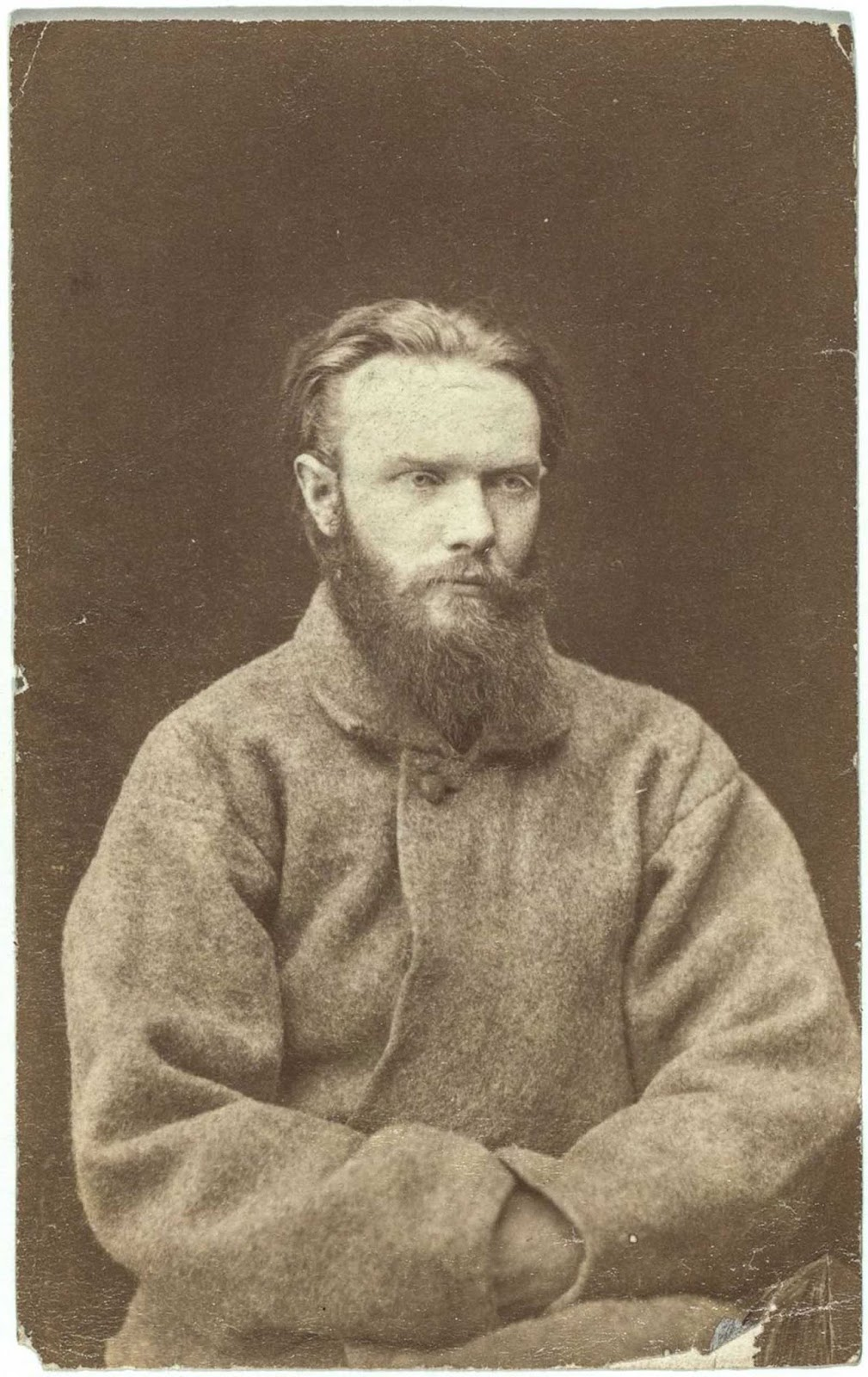 Shchedrin, a schoolteacher, was a political prisoner at the Kara gold mines who escaped in April 1882 by tunneling under the prison wall. He and other prisoners were recaptured and permanently chained to wheelbarrows, before being sent to isolation cells at the castle of Schlisselburg.