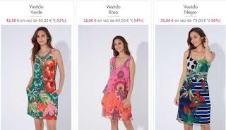 vestidos Desigual en oferta 1